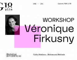 banner k workshopu s Veronique Firkusny