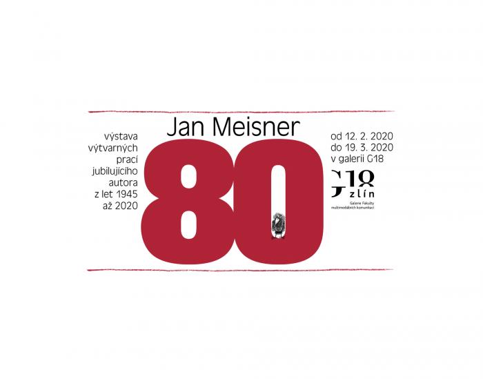 Banner výstavy Meisner 80