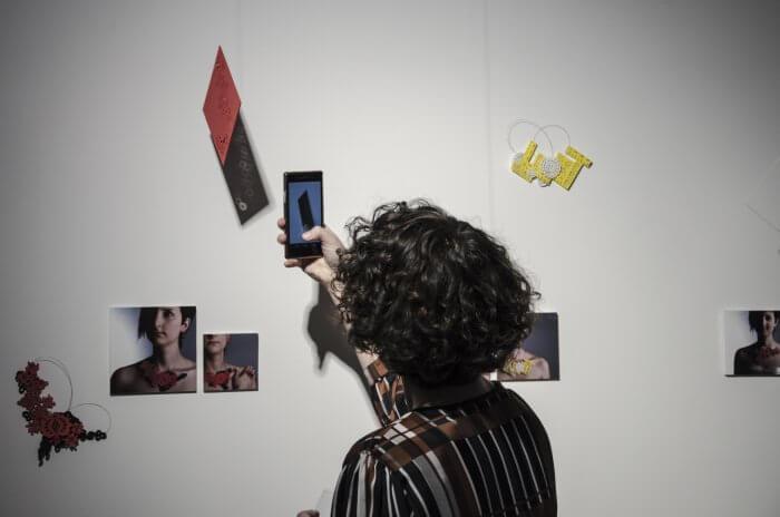 Banner výstavy Podivný semestr