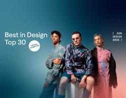 plakát k virtuální výstavě best in design